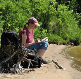 Lake Sable writing