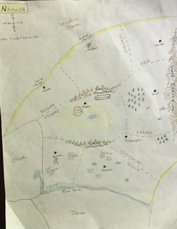 Namora map